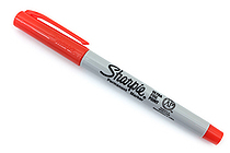 Sharpie Electro Pop Permanent Marker - Ultra Fine Point - Optic Orange - SHARPIE 1927237