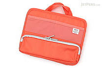 Lihit Lab Smart Fit Stand Pocket Bag in Bag - A6 - Orange - LIHIT LAB A-7662 -4