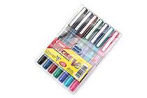 Pilot Precise V5 Rollerball Pen - Extra Fine - 7 Color Set - PILOT 26015