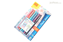 Paper Mate Flair Felt Tip Pen - Medium Point - Tropical Vacation - 6 Color Set - Limited Edition - PAPER MATE 1927997