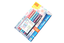 Paper Mate Flair Felt Tip Pen - Medium Point - Tropical Vacation - 6 Color Set - Limited Edition - SANFORD 1927997