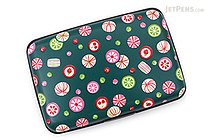 Kurochiku Japanese Pattern Accordion Card Case - Ame (Candy) - KUROCHIKU 71406605