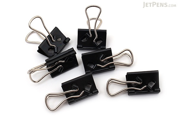 Velos Binder Clip - Flat Type - Small - Pack of 6 - VELOS WFS-3B