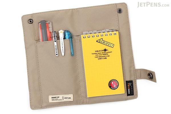 Lihit Lab Smart Fit Pen Case - Beige - LIHIT LAB A-7585-16