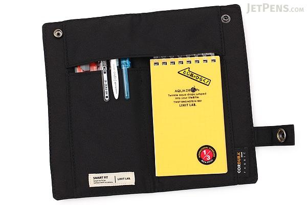 Lihit Lab Smart Fit Pen Case - Black - LIHIT LAB A-7585-24