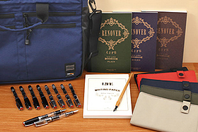 New Products: Life Notebooks, TWSBI Mini Fountain Pens, Nomadic Messenger Bags, Lihit Lab Pencil Cases, Brause Nib Holders and More!