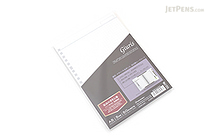 Maruman Giuris Loose Leaf Paper - A5 - 5 mm X 5 mm Graph - 20 Holes - 50 Sheets - MARUMAN HL307A