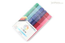 Shachihata Artline Blox Pen - 0.4 mm - 12 Color Set - SHACHIHATA KTX-200/12W
