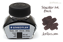 Staedtler Black Ink - 30 ml Bottle - STAEDTLER 9PIB30-9