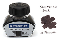 Staedtler Ink - Black - 30 ml - STAEDTLER 9PIB30-9