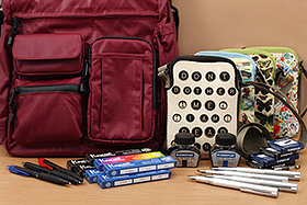New Products: Wise-Walker Tote Bags, Uni-ball Signo 307 Gel Pens, Fountain Pens, Fun Crossbody Bags, and More!