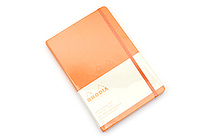 "Rhodia Webnotebook - 5.5"" x 8.3"" - 5 mm Dot Grid - Orange - RHODIA 118768"