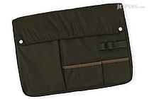 Kokuyo Bizrack Bag in Bag - A4 - Khaki (Green) - KOKUYO KAHA-BR11G