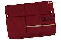 Kokuyo Bizrack Bag in Bag - A4 - Wine Red - KOKUYO KAHA-BR11R