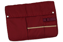 Kokuyo Bizrack Bag in Bag - A4 - Wine Red - KOKUYO KAHA-BR11R