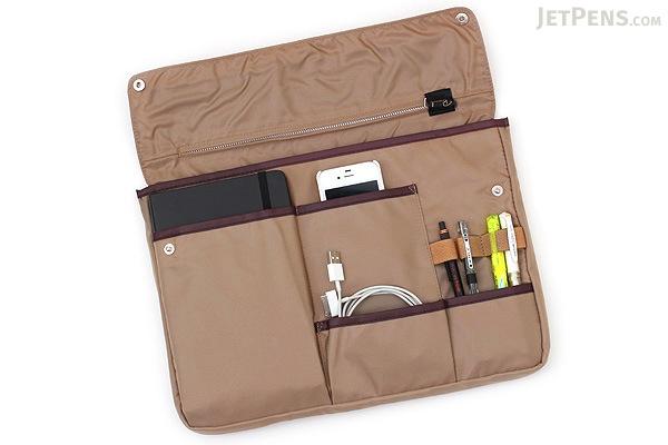 Kokuyo Bizrack Bag in Bag - A4 - Beige - KOKUYO KAHA-BR11S