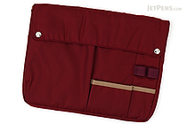 Kokuyo Bizrack Bag in Bag - B5 - Wine Red - KOKUYO KAHA-BR12R
