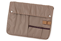 Kokuyo Bizrack Bag in Bag - B5 - Beige - KOKUYO KAHA-BR12S