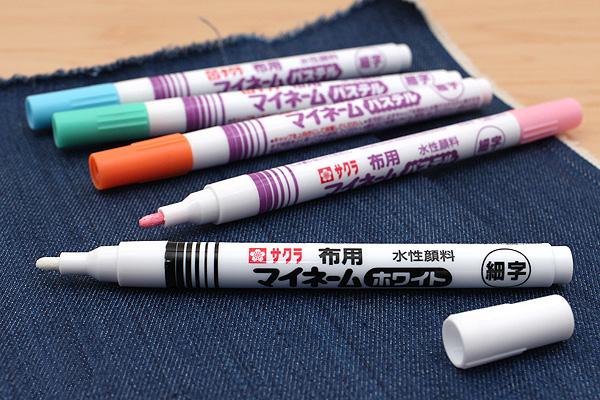 Sakura My Name Fabric Markers