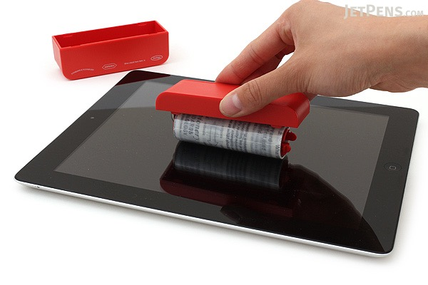 Stalogy Touch Screen Cleaning Roller - Red - STALOGY S8001