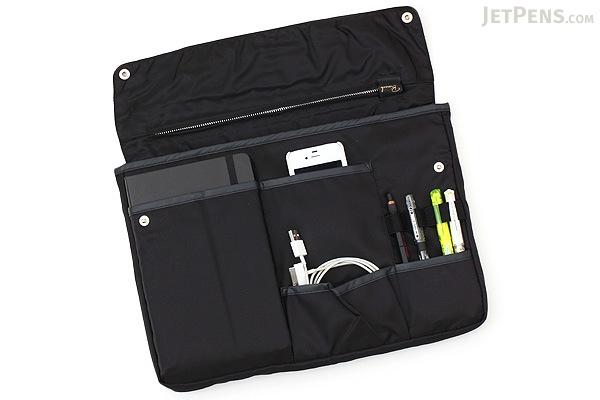 Kokuyo Bizrack Bag in Bag - A4 - Black - KOKUYO KAHA-BR11D