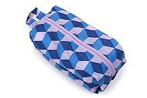 BAGGU 3D Zip Bag - Small - Blue Cube - BAGGU 3D ZIP S BC