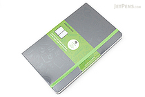 Moleskine Evernote Classic Notebook - Large - Ruled - Gray - MOLESKINE 8051272892260