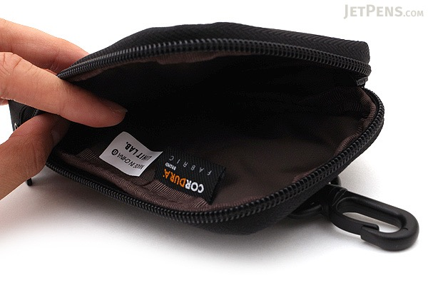 Lihit Lab Smart Fit Mobile Pouch - Black - LIHIT LAB A-7584-24