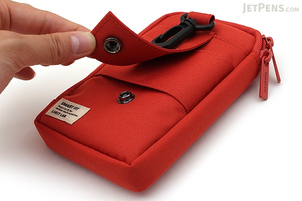 Lihit Lab Smart Fit Mobile Pouch - Orange - LIHIT LAB A-7584-4