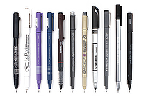 JetPens Drawing Pen Sampler - JETPENS JETPACK-008