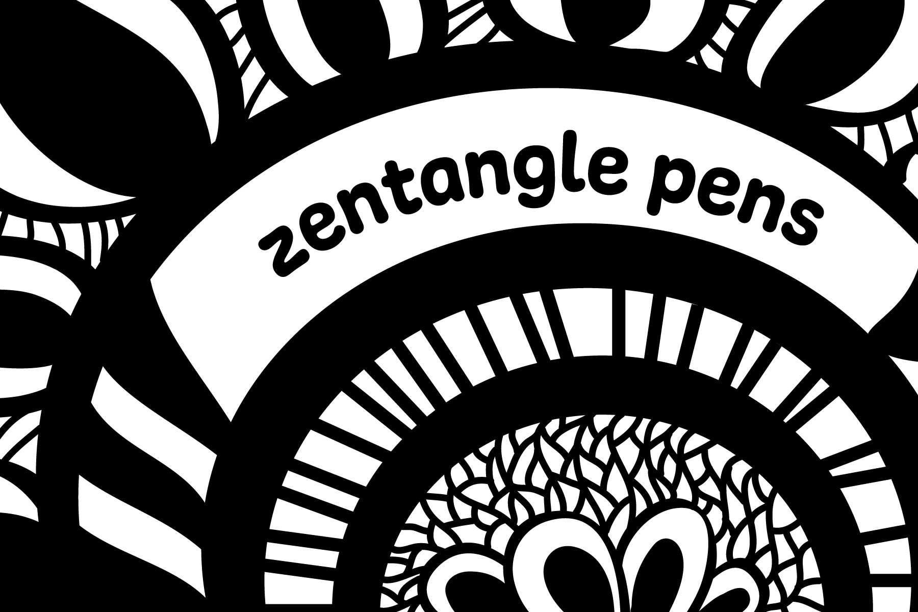 Zentangle Pens