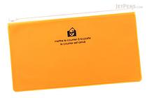 Etranger di Costarica Zipper Case - Pen Size - Transparency Yellow - ETRANGER DI COSTARICA ZIP-PN-65