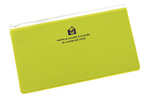 Etranger di Costarica Zipper Case - Pen Size - Transparency Apple Green - ETRANGER DI COSTARICA ZIP-PN-66
