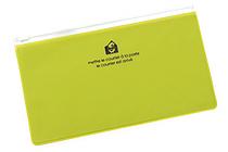 Etranger di Costarica Zipper Case - Pen Size - Transparency Apple Green - ETRANGER DI COSTARICA ZIP-PN-66