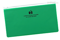 Etranger di Costarica Zipper Case - Pen Size - Transparency Green - ETRANGER DI COSTARICA ZIP-PN-67