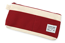 United Bees Out Pocket Pen Case - Red - UNITED BEES UBM-OPP2-11