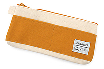 United Bees Out Pocket Pen Case - Mustard - UNITED BEES UBM-OPP2-26