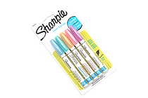 Sharpie Water-Based Paint Marker - Extra Fine Point - 5 Pastel Color Set - SHARPIE 1783276