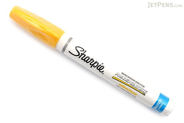 Sharpie Water-Based Paint Marker - Fine Point - Yellow - SHARPIE 35582