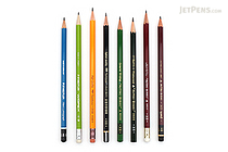 JetPens Wooden Pencil Sampler - HB - JETPENS JETPACK-009