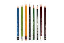JetPens Wooden Pencil Sampler - HB - JETPENS JETPACK-009
