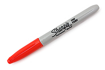 Sharpie Electro Pop Permanent Marker - Fine Point - Optic Orange - SANFORD 1927236