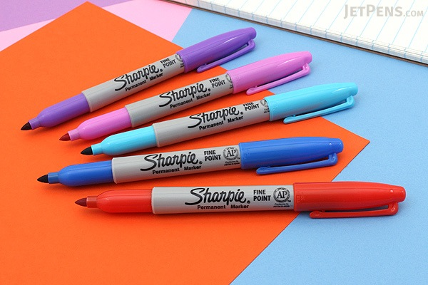 Sharpie Electro Pop Permanent Marker - Fine Point - Ultra Violet - SHARPIE 1927342
