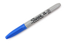 Sharpie Electro Pop Permanent Marker - Fine Point - Techno Blue - SANFORD 1927240