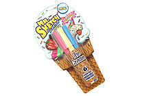 Mr. Sketch Scented Washable Markers - Ice Cream - Stix - 6 Color Set - SANFORD 1924259