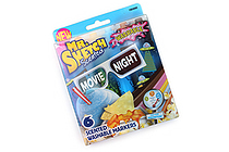 Mr. Sketch Scented Washable Markers - Movie Night - Chisel Tip - 6 Color Set - MR SKETCH 1924260