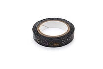 Pine Book Nami Nami Deco Washi Tape - 8 mm - Scribbles - PINE BOOK TM00276