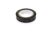 Pine Book Nami Nami Deco Washi Tape - 8 mm - Scribbles - PINE BOOK TM00276