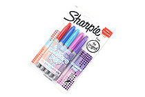 Sharpie Electro Pop Permanent Marker - Fine Point - 5 Color Set - SANFORD 1919847