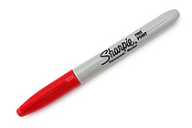 Sharpie Permanent Marker - Fine Point - Red - SANFORD 30052